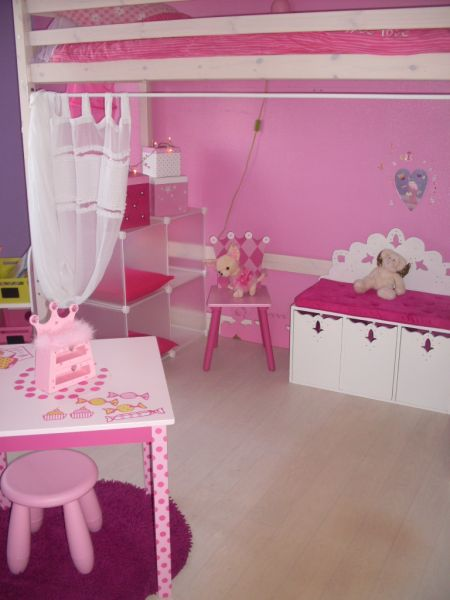 Home deco tableaux abstrait tableau home deco de for Decoration chambre princesse