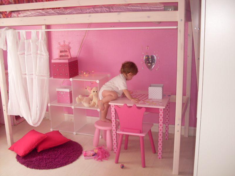 Chambre blanc et rose gold design de maison - Chambre rose et blanc ...