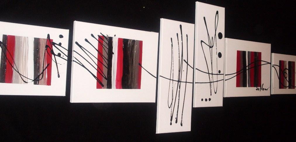 Tableau contemporain tableau home deco de sabine nouaoui for Tableau deco contemporain