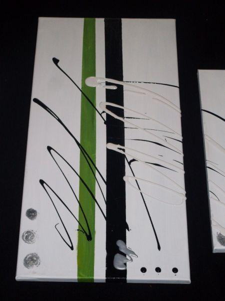 Un Peu De Vert Tableau Home Deco De Sabine Nouaoui Aux Pays D Adam